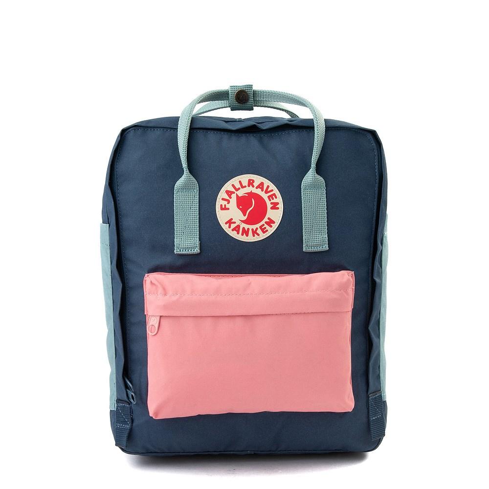 Fjallraven Kanken Backpack - Royal Blue / Pink / Sky Blue