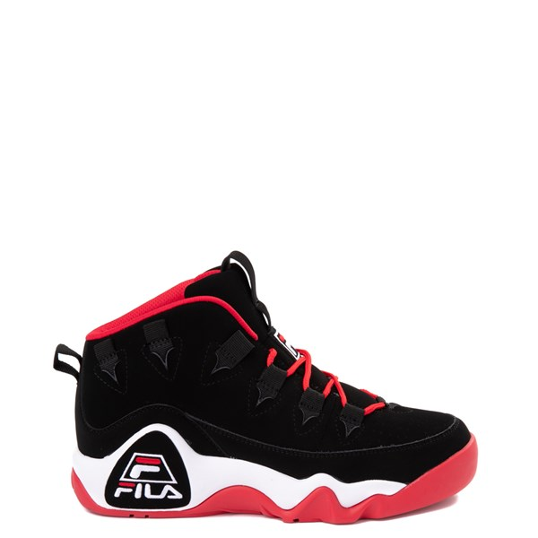 Mens Fila Grant Hill 1 Athletic Shoe - Black / White / Red