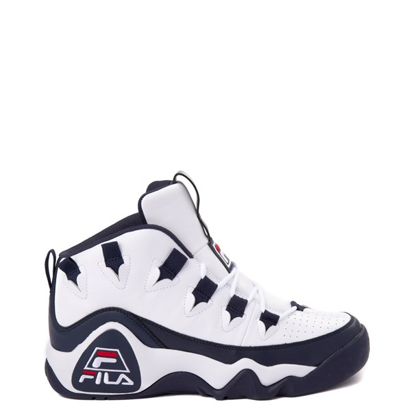 Mens Fila Grant Hill 1 Athletic Shoe - White / Navy / Red