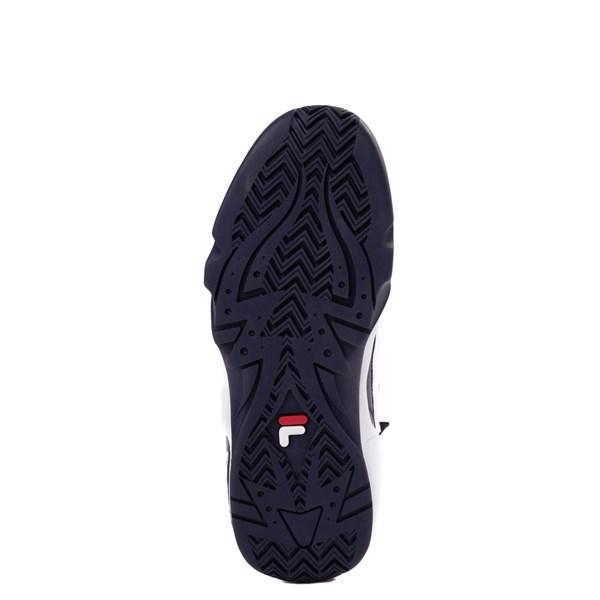 alternate view Mens Fila Grant Hill 1 Athletic Shoe - White / Navy / RedALT5
