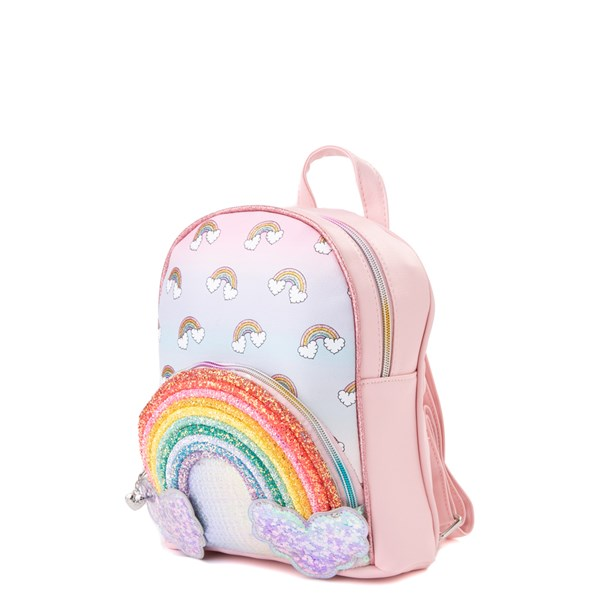 alternate view Rainbow Sequin Mini Backpack - PinkALT2