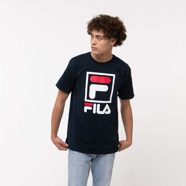 alternate view Mens Fila Stacked TeeALT2