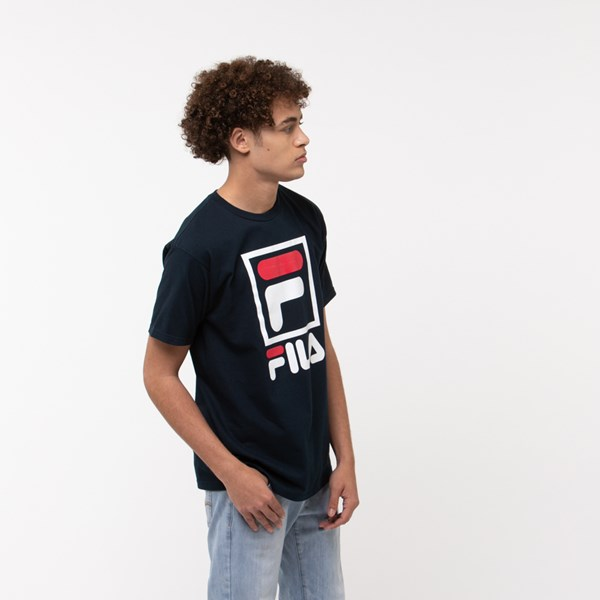 alternate view Mens Fila Stacked TeeALT3