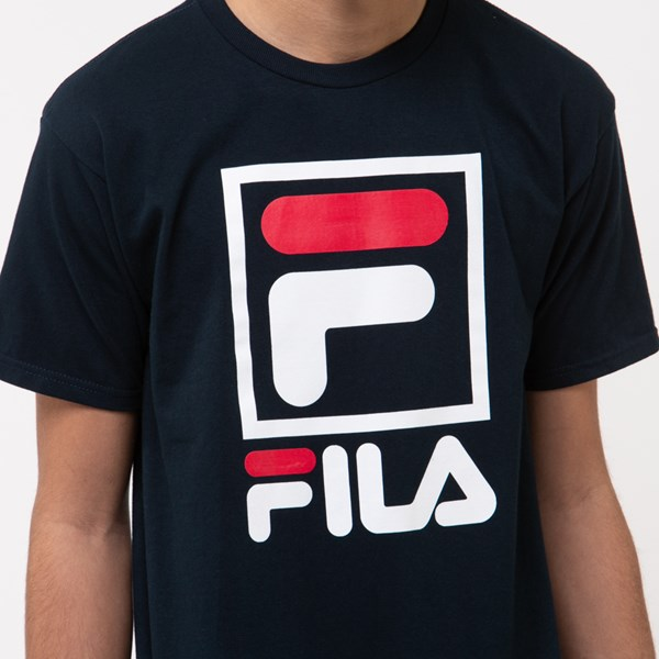 alternate view Mens Fila Stacked TeeALT4