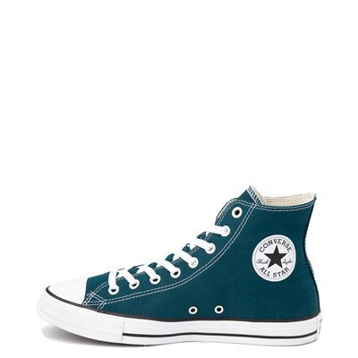 Alternate view of Converse Chuck Taylor All Star Hi Sneaker - Midnight Turquoise