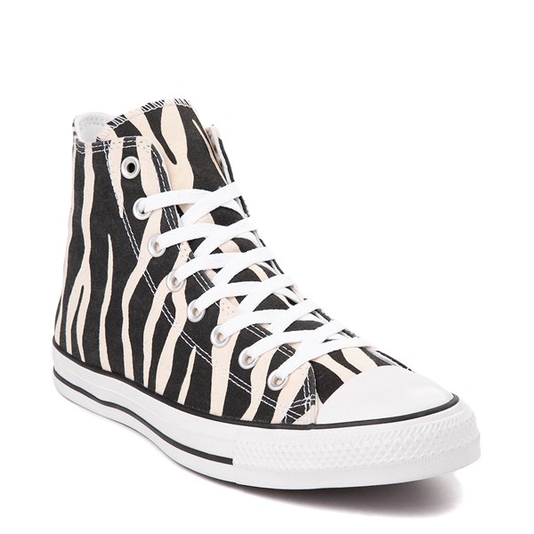 alternate view Converse Chuck Taylor All Star Hi Zebra Sneaker - Black / WhiteALT1B