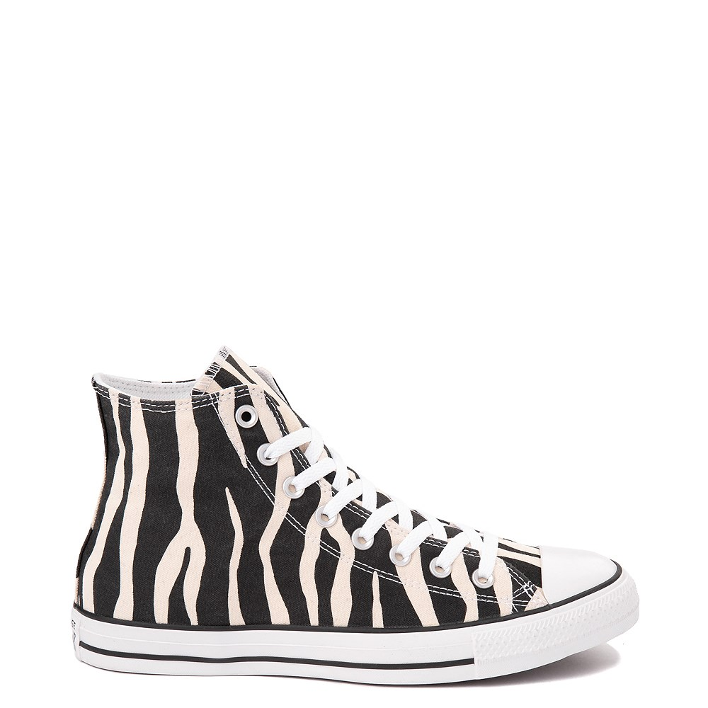 Converse Chuck Taylor All Star Hi Zebra Sneaker - Black / White