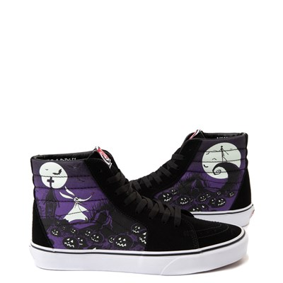 Main view of Vans x The Nightmare Before Christmas Sk8 Hi Jack's Lament Skate Shoe - Black / Multi