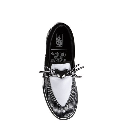 Main view of Vans x The Nightmare Before Christmas Slip On Jack Skellington Skate Shoe - Black