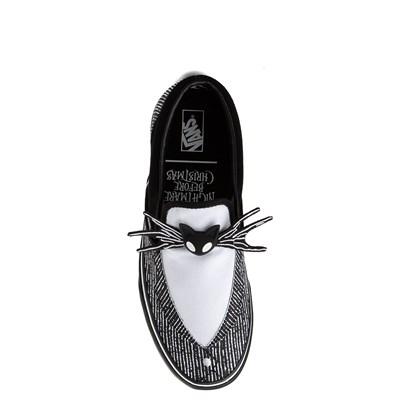 Main view of Vans x The Nightmare Before Christmas Slip On Jack Skellington Skate Shoe - Black