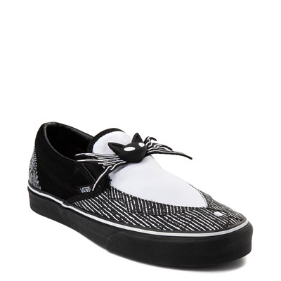 Alternate view of Vans x The Nightmare Before Christmas Slip On Jack Skellington Skate Shoe - Black