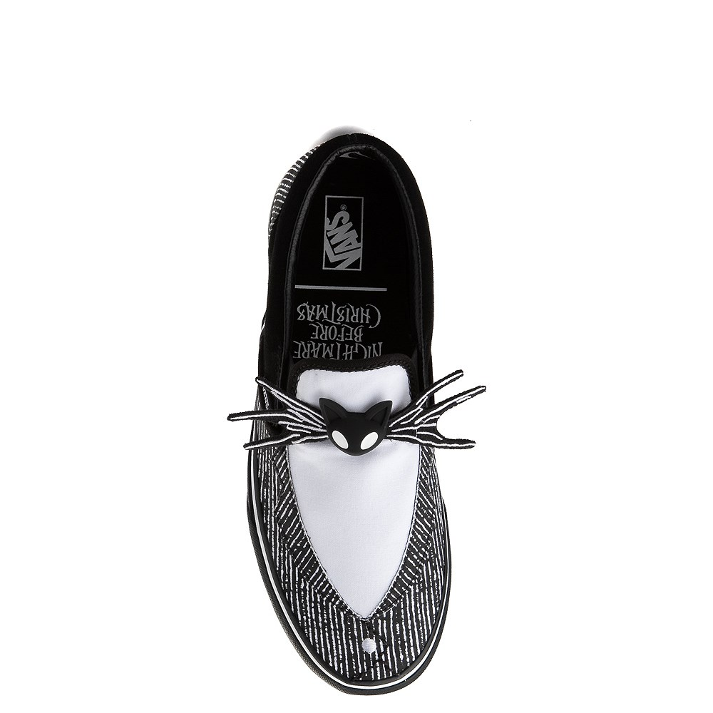 Vans x The Nightmare Before Christmas Slip On Jack Skellington Skate Shoe - Black