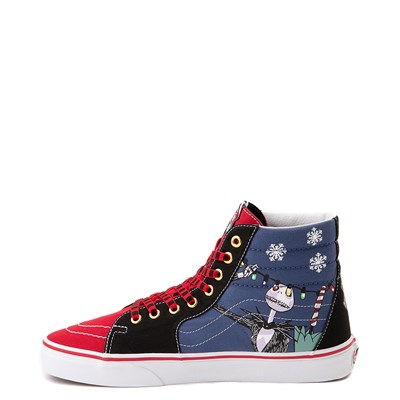 Alternate view of Vans x The Nightmare Before Christmas Sk8 Hi Christmas Town Skate Shoe - Red / Multi