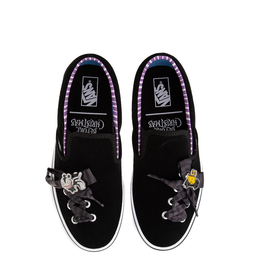 Vans x The Nightmare Before Christmas Slip On Haunted Toys Skate Shoe - Black