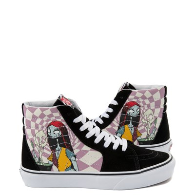 Main view of Vans x The Nightmare Before Christmas Sk8 Hi Sally's Potion Skate Shoe - Black