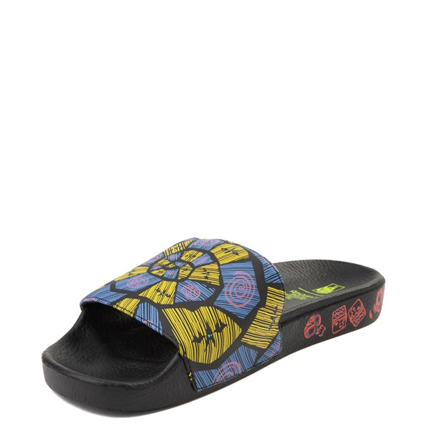 alternate view Mens Vans x The Nightmare Before Christmas Slide On Oogie Boogie Sandal - Black / MultiALT3