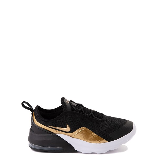 Nike Air Max Motion 2 Athletic Shoe - Little Kid - Black / Gold / White