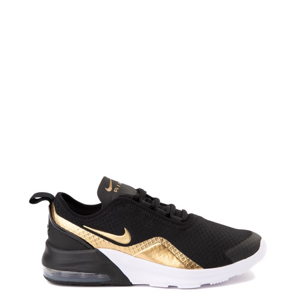 Nike Air Max Motion 2 Athletic Shoe - Big Kid - Black / Gold / White