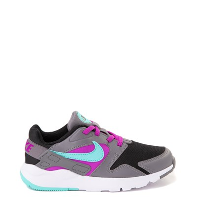 Main view of Nike LD Victory Athletic Shoe - Little Kid - Gray / Black / Turquoise / Purple