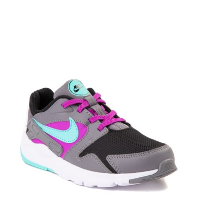 Alternate view of Nike LD Victory Athletic Shoe - Little Kid - Gray / Black / Turquoise / Purple