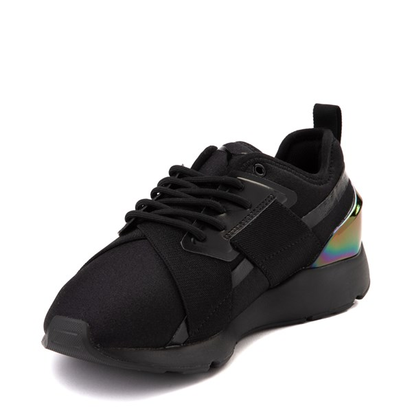 alternate view Womens Puma Muse X-2 Athletic Shoe - Black / IridescentALT3