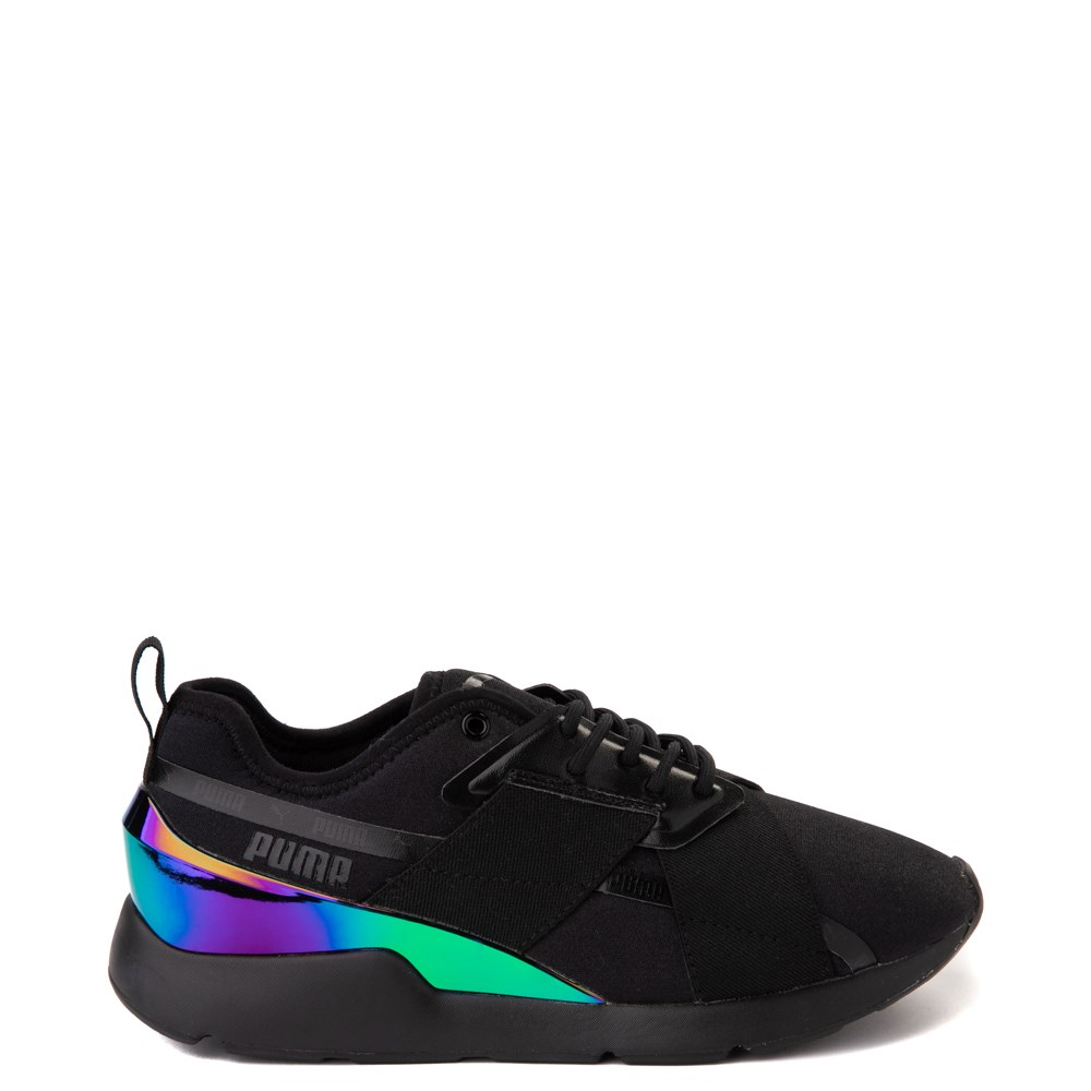 Womens Puma Muse X-2 Athletic Shoe - Black / Iridescent