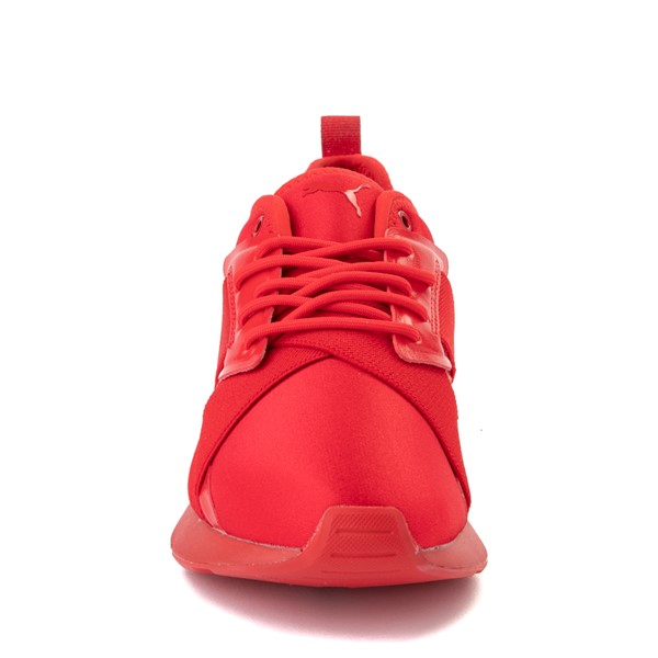 alternate view Womens Puma Muse X-2 Athletic Shoe - Red / IridescentALT4
