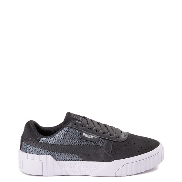 Womens Puma Cali Sequins Athletic Shoe - Gray