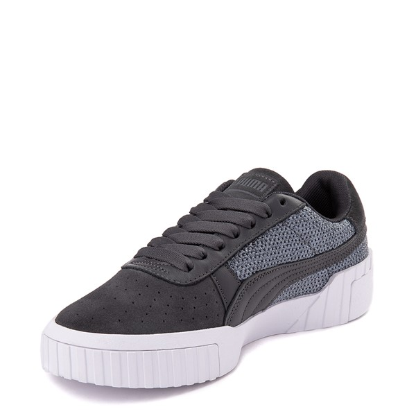 alternate view Womens Puma Cali Sequins Athletic Shoe - GrayALT2
