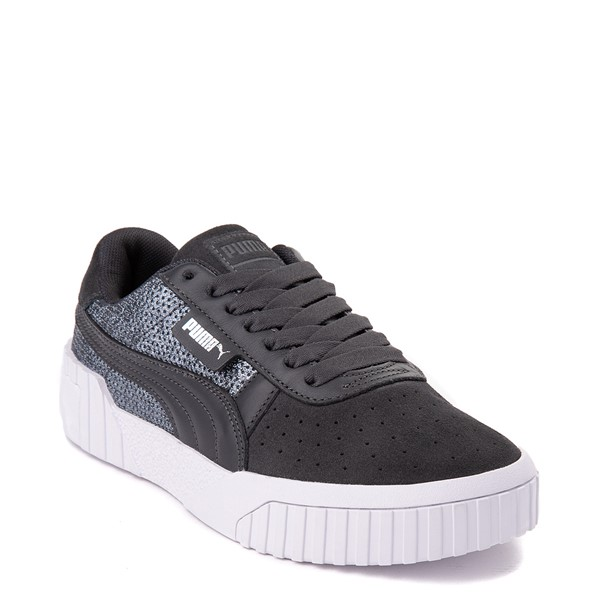 alternate view Womens Puma Cali Sequins Athletic Shoe - GrayALT5