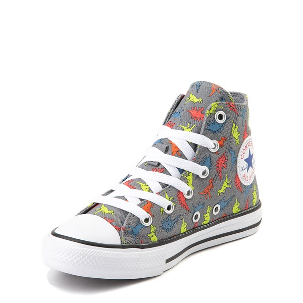alternate view Converse Chuck Taylor All Star Hi Dinoverse Sneaker - Little Kid - MultiALT3