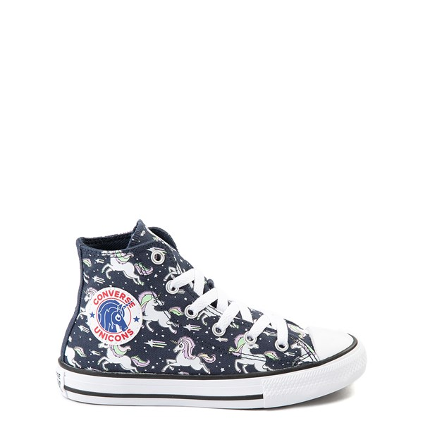 Converse Chuck Taylor All Star Hi UniCons Sneaker - Little Kid - Navy / Multi