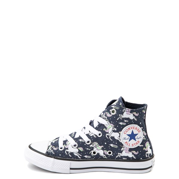 alternate view Converse Chuck Taylor All Star Hi UniCons Sneaker - Little Kid - Navy / MultiALT1