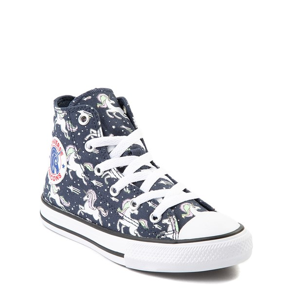 alternate view Converse Chuck Taylor All Star Hi UniCons Sneaker - Little Kid - Navy / MultiALT1B