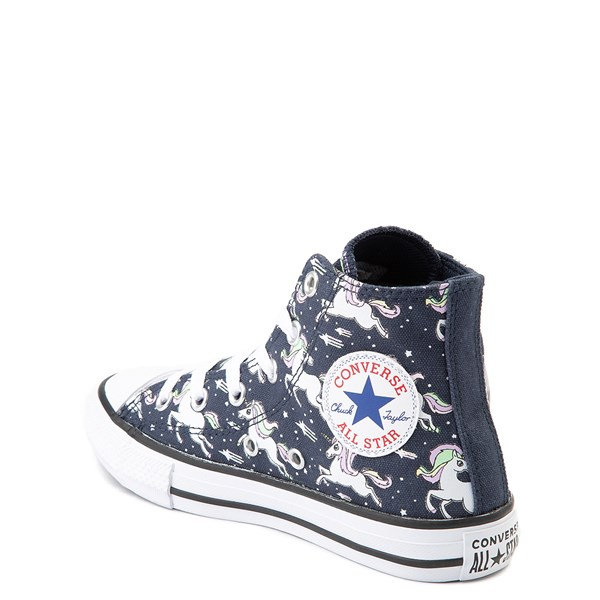 alternate view Converse Chuck Taylor All Star Hi UniCons Sneaker - Little Kid - Navy / MultiALT2