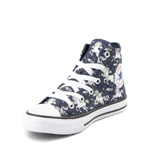 alternate view Converse Chuck Taylor All Star Hi UniCons Sneaker - Little Kid - Navy / MultiALT3