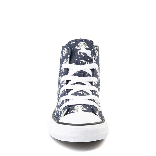 alternate view Converse Chuck Taylor All Star Hi UniCons Sneaker - Little Kid - Navy / MultiALT4