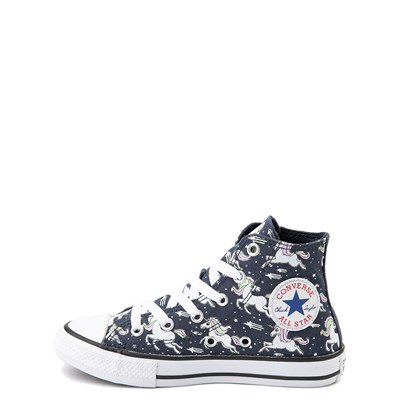 Alternate view of Converse Chuck Taylor All Star Hi UniCons Sneaker - Little Kid - Navy / Multi