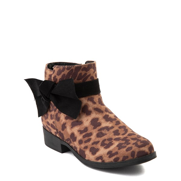 alternate view MIA Sami Ankle Boot - Little Kid / Big Kid - LeopardALT1