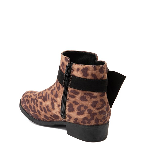 alternate view MIA Sami Ankle Boot - Little Kid / Big Kid - LeopardALT2
