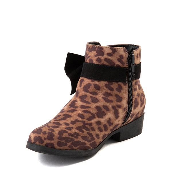 alternate view MIA Sami Ankle Boot - Little Kid / Big Kid - LeopardALT3