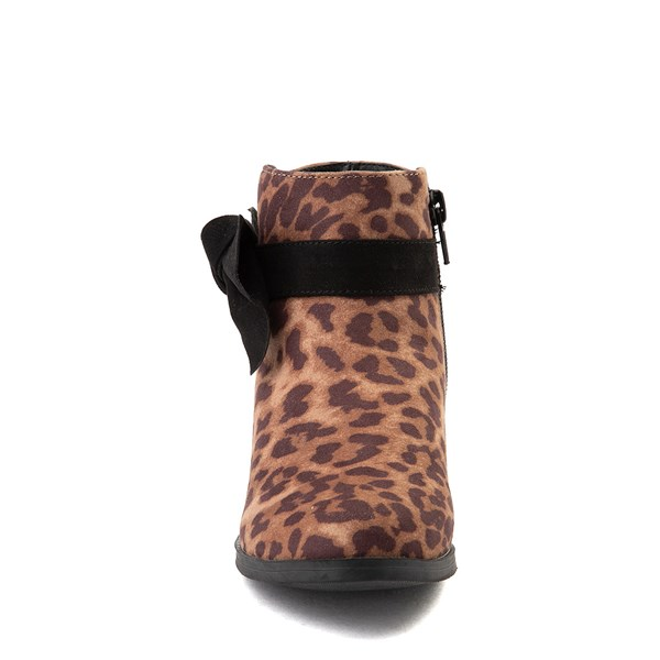 alternate view MIA Sami Ankle Boot - Little Kid / Big Kid - LeopardALT4