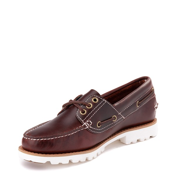 alternate view Womens Timberland Noreen Lite Casual Shoe - BurgundyALT3