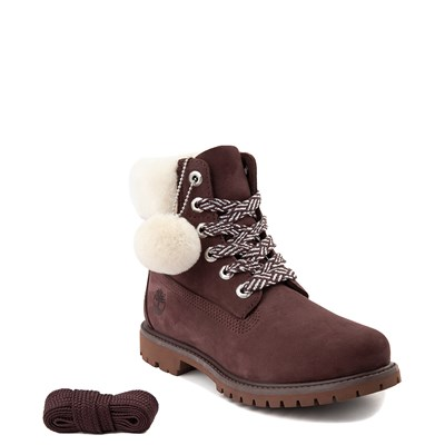 "Alternate view of Womens Timberland 6"" Premium Shearling Collar Boot"