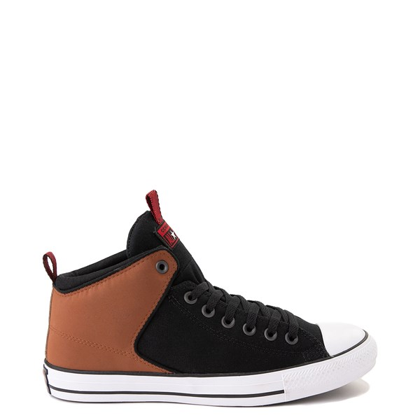 Converse Chuck Taylor All Star High Street Sneaker - Black / Warm Tan