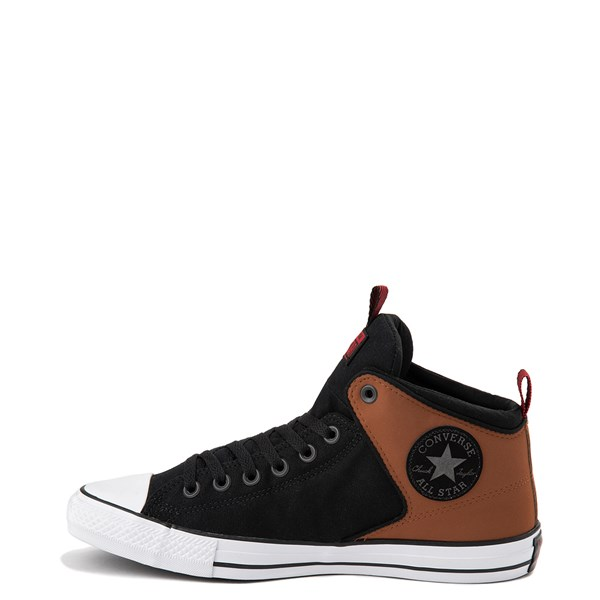 alternate view Converse Chuck Taylor All Star High Street Sneaker - Black / Warm TanALT1