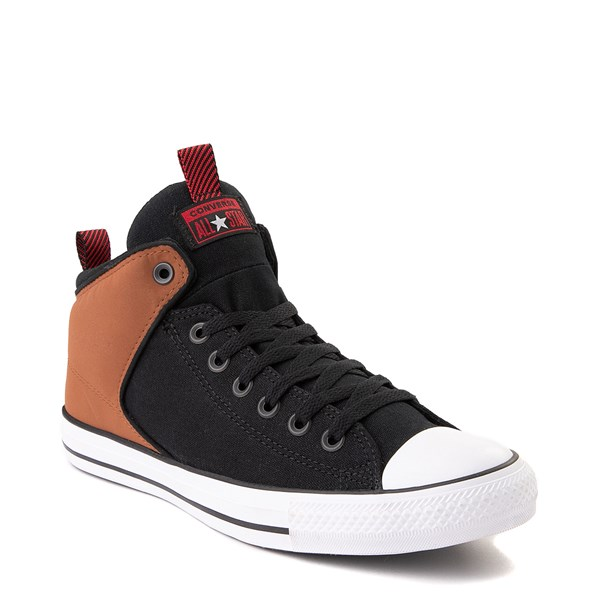 alternate view Converse Chuck Taylor All Star High Street Sneaker - Black / Warm TanALT1B