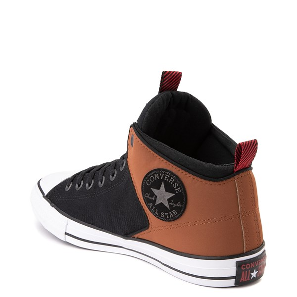 alternate view Converse Chuck Taylor All Star High Street Sneaker - Black / Warm TanALT2