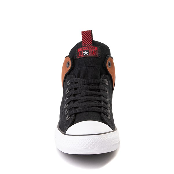 alternate view Converse Chuck Taylor All Star High Street Sneaker - Black / Warm TanALT4