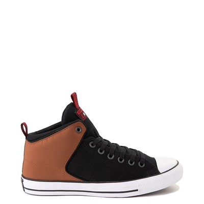 Main view of Converse Chuck Taylor All Star High Street Sneaker - Black / Warm Tan